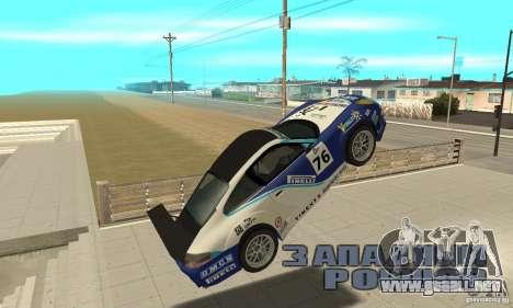 Porsche 911 Le GRID para visión interna GTA San Andreas