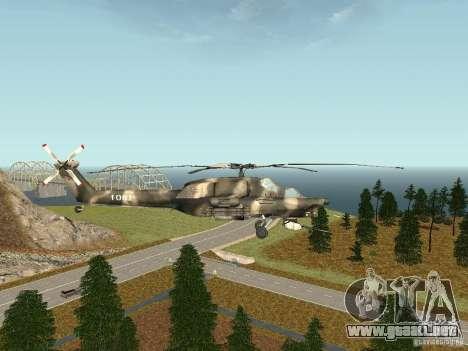 MI 28 HAVOC para GTA San Andreas left