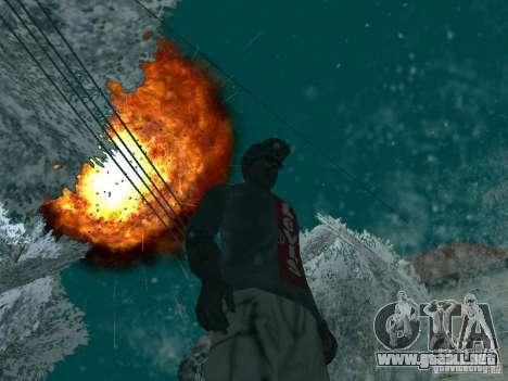 Salut v1 para GTA San Andreas tercera pantalla