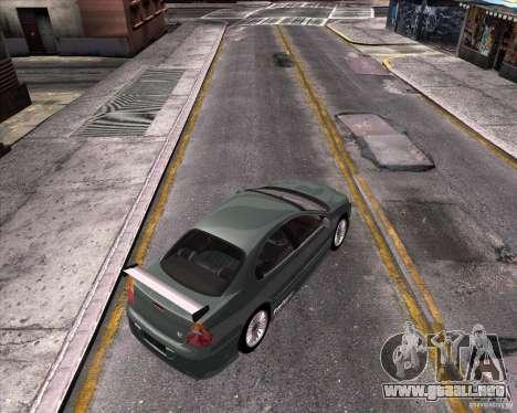 Chrysler 300M tuning para GTA San Andreas vista hacia atrás