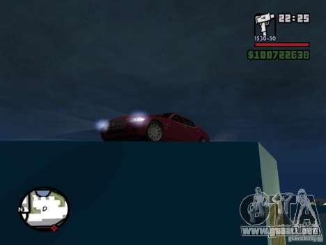 Maserati Quattroporte para la visión correcta GTA San Andreas