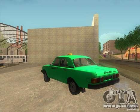 GAZ 31029 taxi para GTA San Andreas left