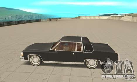 Cadillac Coupe DeVille 1985 para GTA San Andreas left