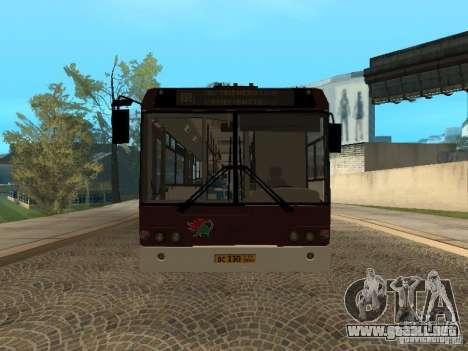 LIAZ 6213.70 para GTA San Andreas left