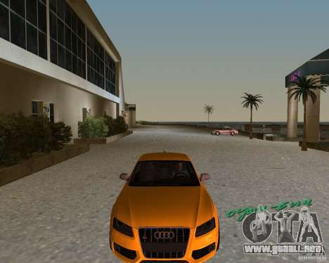 Audi S5 para GTA Vice City left