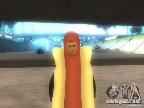 Salchicha de hombre para GTA San Andreas