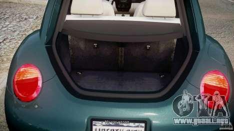 Volkswagen New Beetle 2003 para GTA 4 vista lateral