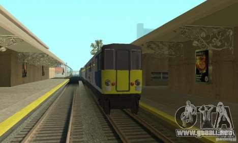 Cerberail Train para GTA San Andreas left
