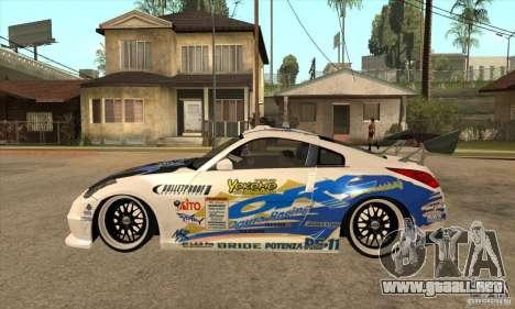 Nissan Z350 - Tuning para GTA San Andreas left