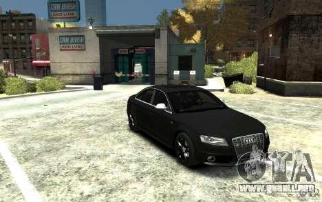 Audi S4 2010 v.1.0 para GTA 4 vista hacia atrás
