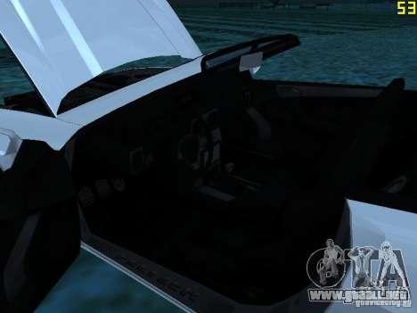 GTA IV Feltzer para GTA San Andreas vista hacia atrás
