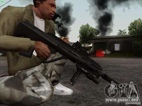 AUG-A3 Special Ops Style para GTA San Andreas sucesivamente de pantalla