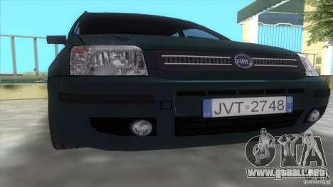 Fiat Panda 2004 para GTA Vice City visión correcta