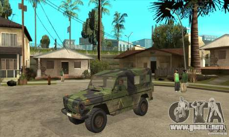 Mercedes Wolf para GTA San Andreas