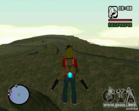 Ebisu Touge para GTA San Andreas quinta pantalla