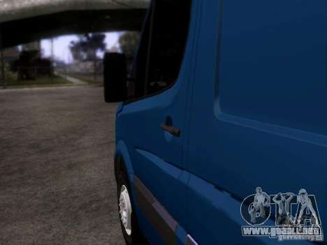 Volkswagen Crafter XL para GTA San Andreas left