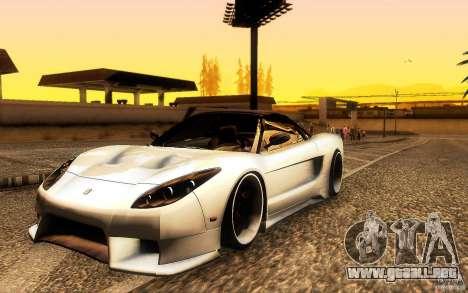 Honda NSX VielSide Cincity Edition para GTA San Andreas