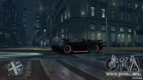 Red Neon  Banshee para GTA 4 Vista posterior izquierda