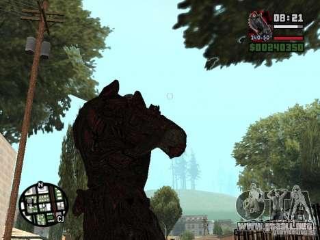 Lokast Theron guardia para GTA San Andreas tercera pantalla