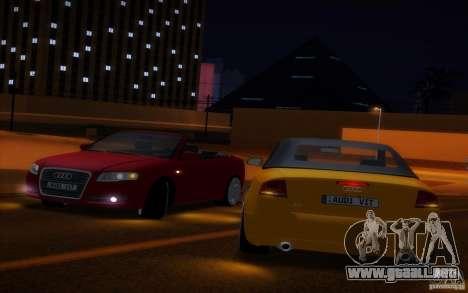 Audi A4 Cabrio para la vista superior GTA San Andreas