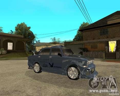 AZLK 2140 afinado SX para la visión correcta GTA San Andreas