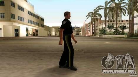 Nueva versión de la policía de ropa 2 para GTA Vice City segunda pantalla