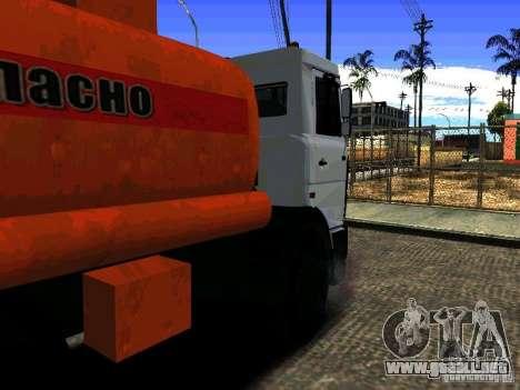MAZ 533702 camión para GTA San Andreas left