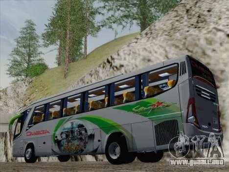 Marcopolo Paradiso 1200 G7 para GTA San Andreas vista posterior izquierda