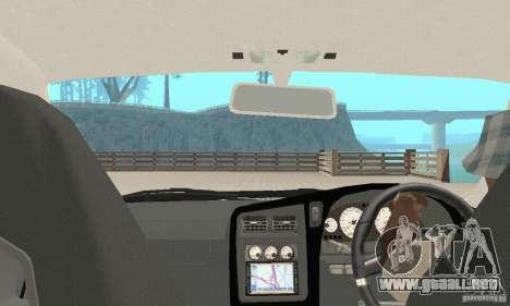 Nissan Stagea GTR para la vista superior GTA San Andreas