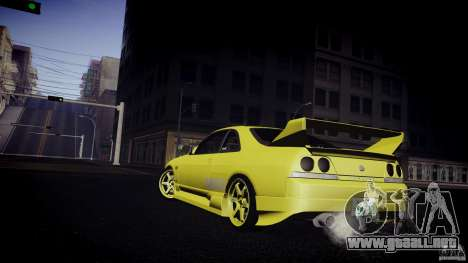 Nissan Skyline GTS R33 para la visión correcta GTA San Andreas