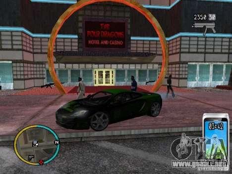 GTA IV HUD v2 by shama123 para GTA San Andreas sexta pantalla