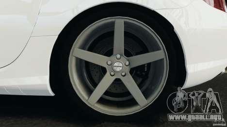 Mercedes-Benz SLK 2012 v1.0 [RIV] para GTA 4 vista superior