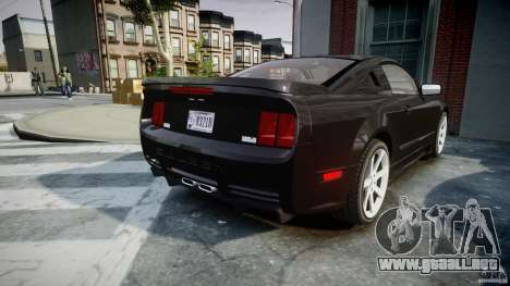 Saleen S281 Extreme Unmarked Police Car - v1.2 para GTA 4 vista lateral