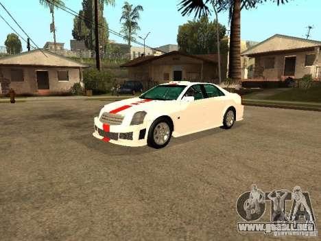 Cadillac CTS 2003 Tunable para la vista superior GTA San Andreas