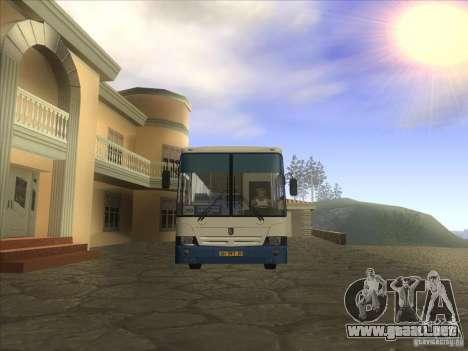 NEFAZ-5299-32 11 para GTA San Andreas left