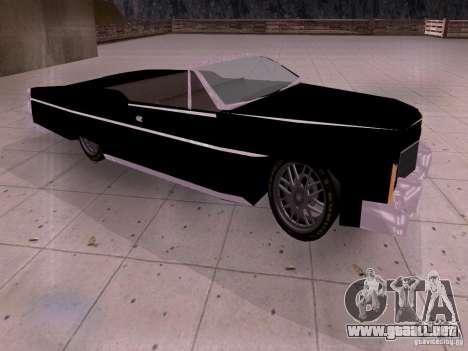 Cadillac Deville 1974 para GTA San Andreas left