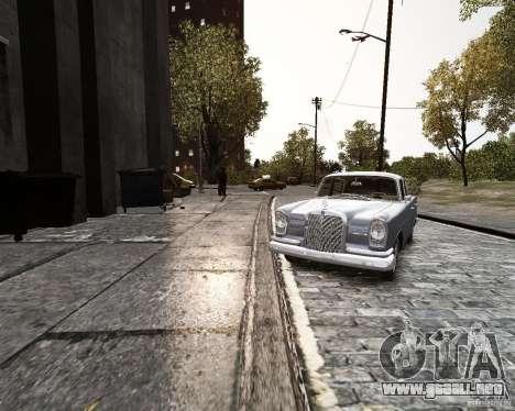 Mercedes-Benz W111 para GTA 4 visión correcta