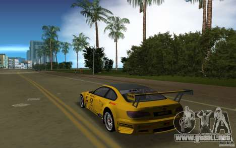 BMW M3 GT2 para GTA Vice City left