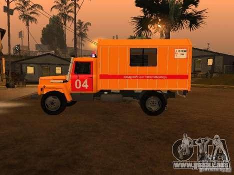 Gaz 3309; para GTA San Andreas left