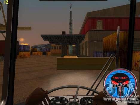 Trolebús LAZ-52522 para visión interna GTA San Andreas
