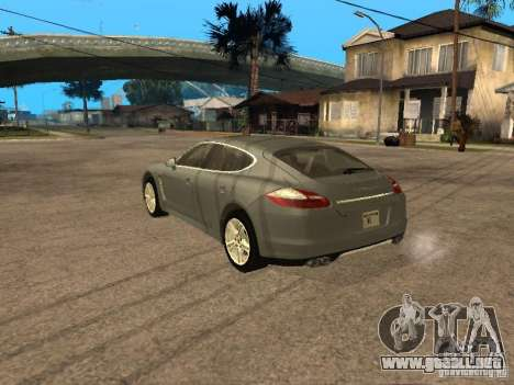 Porsche Panamera Turbo 2010 para GTA San Andreas left