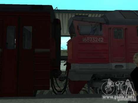 2te116 RZD para la visión correcta GTA San Andreas