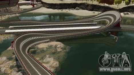 Stunt Speedway Park para GTA 4 quinta pantalla