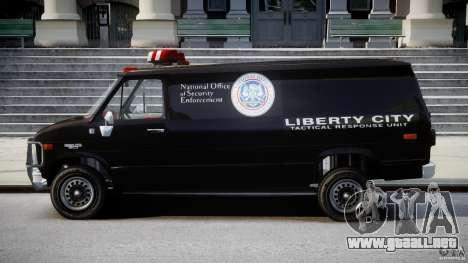Chevrolet G20 Van V1.1 para GTA 4 left