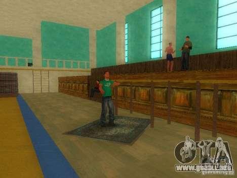 Tricking Gym para GTA San Andreas tercera pantalla