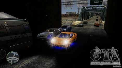 Traffic Load [Final] para GTA 4 adelante de pantalla