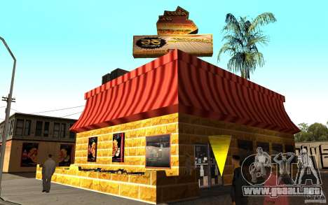 Café Rostics para GTA San Andreas