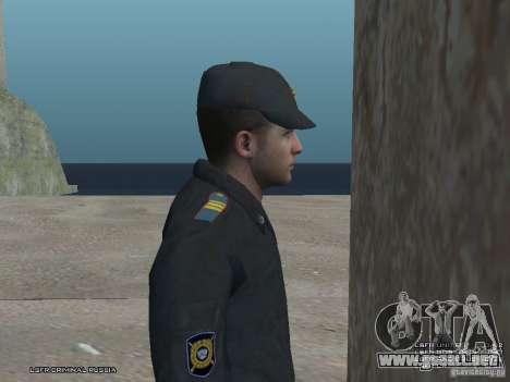 Sargento PPP para GTA San Andreas quinta pantalla