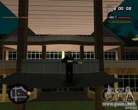 Shotgun Gold para GTA San Andreas tercera pantalla