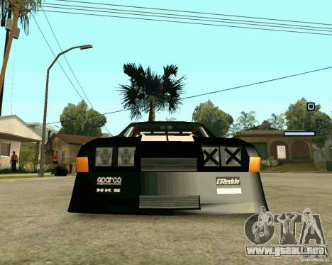 Hotring Racer Tuned para visión interna GTA San Andreas